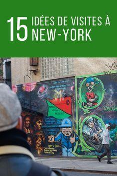 Que faire à New-York? Voici 15 idées de visites et d'activités, certaines incontournables et d'autres un peu moins connues. Ce sont mes coups de coeurs à NYC après quatre visites là-bas. New York City aux Etats-Unis #voyage #newyork #newyorkcity #nyc #etatsunis