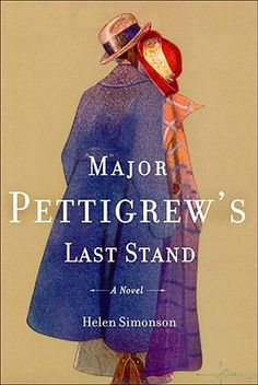 Fiction. Major Pettigrew's Last Stand by Helen Simonson. Wonderful gentle read set in the UK and told from the perspective of a retired Major. Excellent.