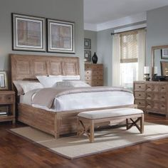 White And Oak Bedroom Sets