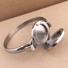 Stainless Steel Essential Oil Diffuser Bracelet - Original Oily Amulet Design No.1