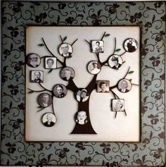 ".........Visiting Teaching surprise!: I am making my ""Family Tree Magnet Board"""