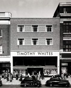 Timothy Whites Chemists. Taken over by Boots in 1966 but stores carried on using the brand name for some time afterwards.
