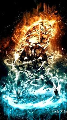 Naruto Kakashi, Kakashi Sharingan, Anime Naruto, Naruto Uzumaki Shippuden, Sakura Anime, Fan Art Naruto, Sasuke Sarutobi, Naruto And Sasuke Wallpaper, Wallpaper Naruto Shippuden