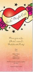 bachelorette girls' night out Invitations & Announcements
