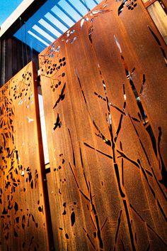 Garden Screens Melbourne - Metal Screens | Pierre Le Roux Design