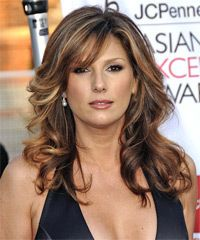 Daisy Fuentes Hairstyle - Formal Long Wavy