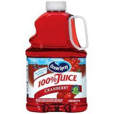 Ocean Spray 100% Cranberry 100% Juice, 101.4 oz