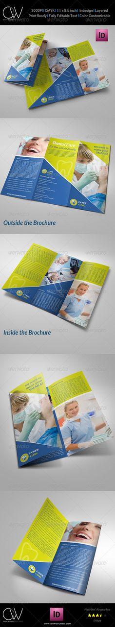 Dental Clinc Tri-Fold Brochure