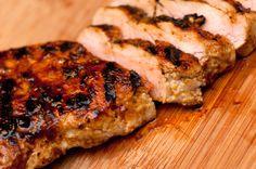 Balsamic Pork Tenderloin by foodfigure: Quick, easy and succulent. #Pork_Tenderloin #Balsamic_Vinegar