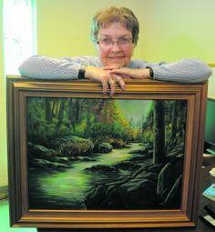 Artistic volunteering: Lowe combines love of art with dedication to volunteerism