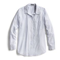 Spring Stylist Picks: Blue striped button down