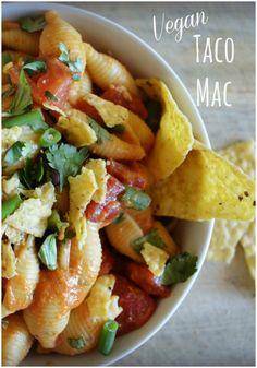 taco mac #vegan #meatlessmonday