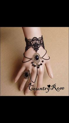 Shop Retro Bohemian Style Lady's Lace Bracelet with Crystal on sale at Tidestore with trendy design and good price. Come and find more fashion Bracelet here. Steampunk Accessories, Jewelry Accessories, Jewelry Design, Head Jewelry, Cute Jewelry, Jewelry Box, Tao, Fashion Bracelets, Fashion Jewelry