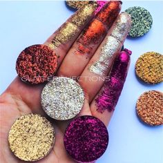 Glitter Injections caries all manner of glitters to add sparkle to any look! We are most known for our Glitter Injections and Pressed Glitters, that come in an ever-growing full range of colors!