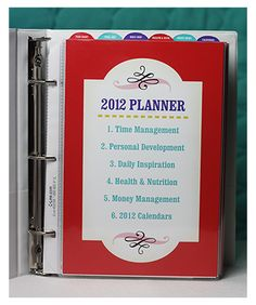 I can't wait to get this planner printed and put together. I am officially ready for the new year. Thanks Crystal!!
