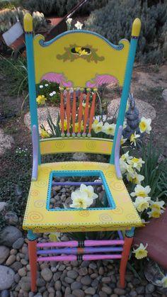 Garden Pot Chair