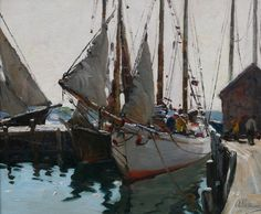 Art History News: Gruppe, Hibbard and Thieme - Three Artists of Cape Ann
