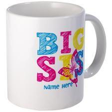 Butterfly Big Sis Mug