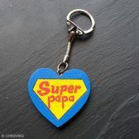 DIY Porte clés Super Papa
