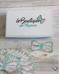 Cutii personalizate si carti de vizita...handmade, pentru alta afacere handmade. #cartedevizita #cutie