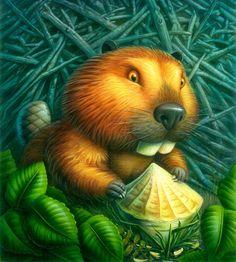 Animal Illustrations by Bill Cigliano, via Behance