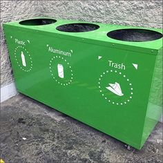 Absolutely Green Recycling Station Concept