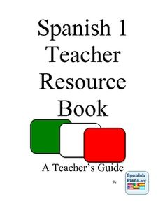 50 pages of classroom-tested resources for Spanish teachers!