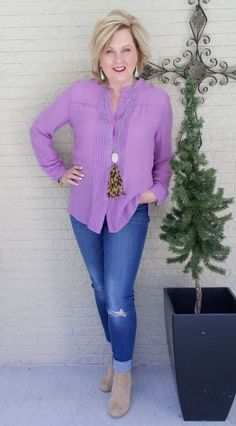 50 IS NOT OLD   ULTRA VIOLET IS THE COLOR OF THE YEAR   FASHION OVER 40