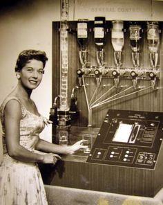 "retrosci-fi:  ""Vintage Cocktail machine."" ~retro-futurism   LOL"