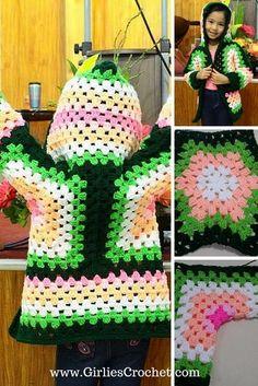 http://www.girliescrochet.com/hexagonal-hooded-cardigan.html