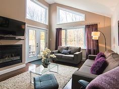 Beautifull sunny house, 5 minutes from Mont Ste-Anne and privat SpaVacation Rental in Mont Ste-Anne from Mont St Anne, Cabin Rentals, Home And Away, Ideal Home, Condo, Vacation, House, Travel, Home Decor