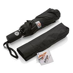 Umbrella - K-POP Black Auto Open/Close Umbrellas - The Best Windproof Travel Umbrella