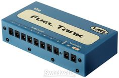 $161 - T-Rex Fuel Tank Pedalboard Power Supply with 8 x 9V Outputs, 2 x 12V Isolated Outputs, and Voltage Selector
