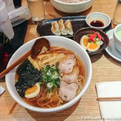 (Eat) Shoryu Ramen, Regent St. Photography & Review by Kang L #London #Japanese