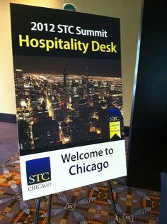 Host Chapter Hospitality Desk Sign. By Linda_Groups, via Flickr.