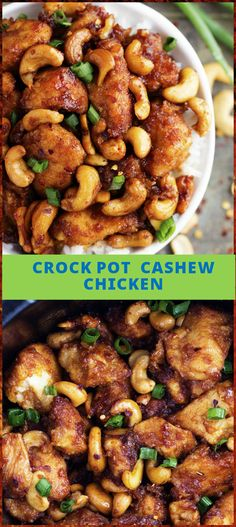 Inviting CrockPot Cashew Chicken - 100 Easy Slow Cooker Recipes – Crock Pot Recipes for Busy Timing