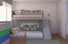 Kids Bedroom Designs, Kids Room Design, Bed Design, Living Room Ornaments, Interior Room Decoration, Deco Kids, Cool Kids Rooms, Kids Bedroom Furniture, Shared Rooms
