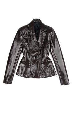Saville Vinyl Jacket by Jonathan Saunders for Preorder on Moda Operandi