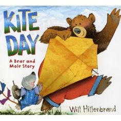 Book, Kite Day: A Bear and Mole Story by Will Hillenbrand