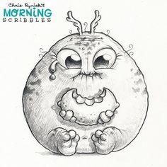 Lemon Face #morningscribbles