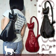 Сумки с животными. Cat bag.