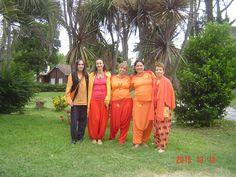 Spiritual retreat, with Swamini Shakti Ma, Swaminni Parvtiananda, Yogacharini Macarena and Swamini Dayananda, in Mar del Plata, Argentina, december 2015