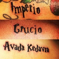 Three siblings = three curses. | 19 Sibling Tattoos For When There's Two Or More Of You