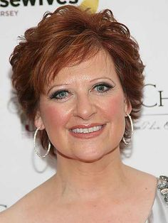 haircut with texture - Caroline Manzo   3 ways to style