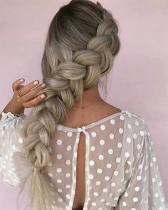 Beautiful Braided Hairstyles Are Available For Almost Every Hair Length 2019 - Braids hairstyles are more fashionable than ever. Already last summer braided hairstyles were the hit. And now lets see the new season. - - August 24 2019 at New Hair, Your Hair, Childrens Hairstyles, Toddler Hairstyles, Winter Hairstyles, Formal Hairstyles, Wedding Hairstyles, Braids For Long Hair, Braids Easy