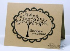 CCEE CAS Sympathy CKM by LilLuvsStampin - Cards and Paper Crafts at Splitcoaststampers