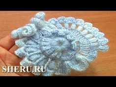 TRICO y CROCHET-madona-mía: Crochet libre ruso en vídeos