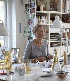 Jette Frölich in her studio