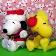 Cuddle up with someone special this holiday season! Bring along your Snoopy and Woodstock Christmas plush toys for even more fun, now available in our shop at CollectPeanuts.com.
