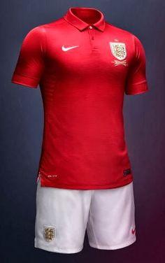 ce624612c4af4 Les presento el Nuevo Uniformes de Visitante de la Selección Inglesa de  Fútbol.